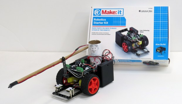Turn your robot starter kit into a jousting bot!