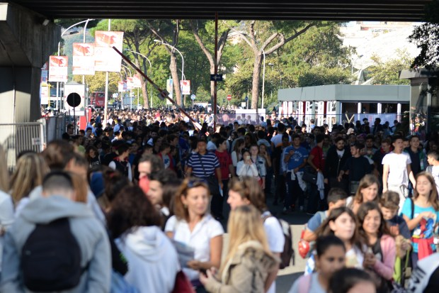 Maker Faire Rome kicked off with an education day, bringing 10,000 students to the event.