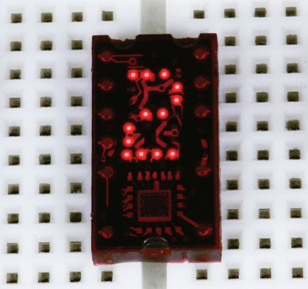 Figure G: Texas Instruments TIL311. 5VDC. Total supply current for logic plus LEDs: typically about 100mA.