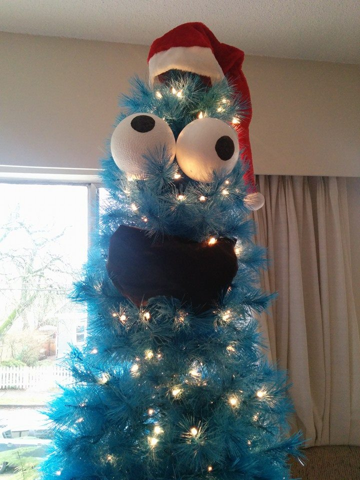 cookie-monster-christmas-tree