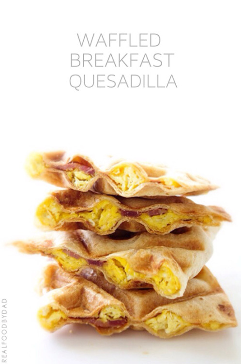 Waffled-Breakfast-Quesadilla-from-Real-Food-by-Dad