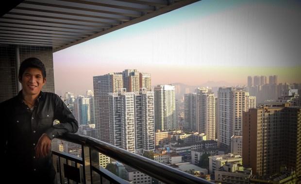 Frank in Shenzhen