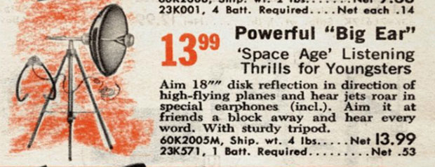 These were also commonly advertised in the back of Silver Age comic books along with novelty x-ray specs and real live monkeys and dogs that fit into a tea cup!