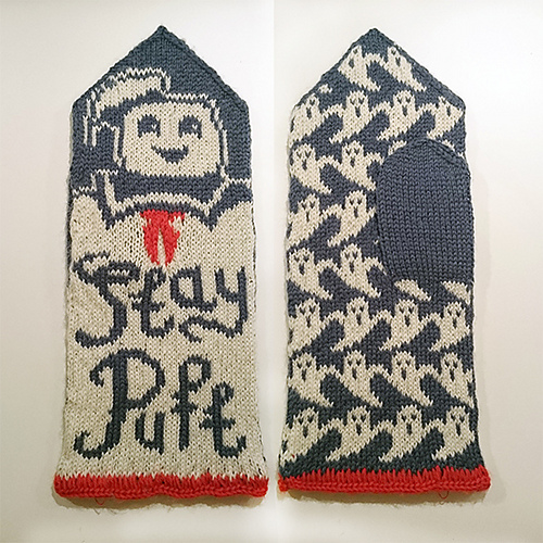 Therese Sharps Geeky Mitten Knitting Patterns Make