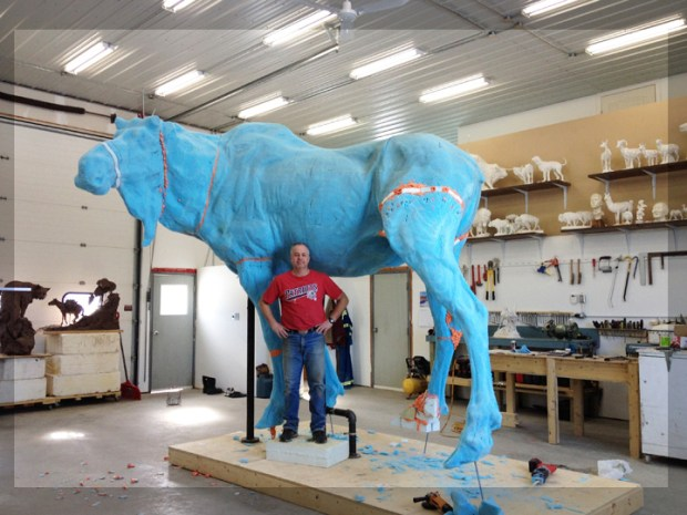 3D Printing Helps Artist Make Massive Bronze Sculptures