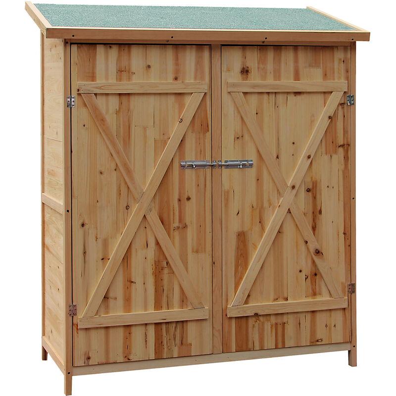 abri de jardin bois xxl remise cabane pour outils armoire de jardin stockage rangement exterieur