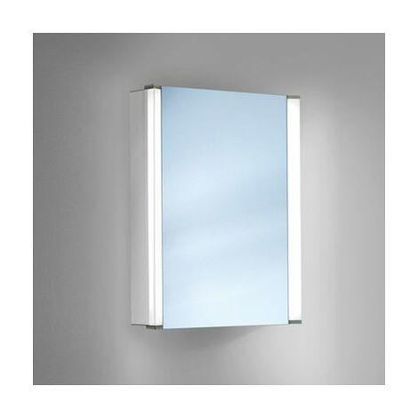armoire de toilette 1 porte avec miroir