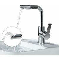 Auslauf Wasserhahn Bad Armatur 360° drehbar Waschbecken ...