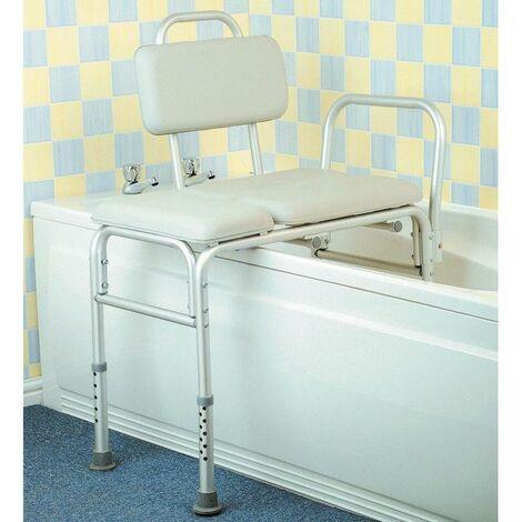 banc de transfert pour baignoire comfy 40 cm beige