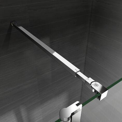 barre de stabilisation extensible sanitaire barre de fixation pour paroi de douche