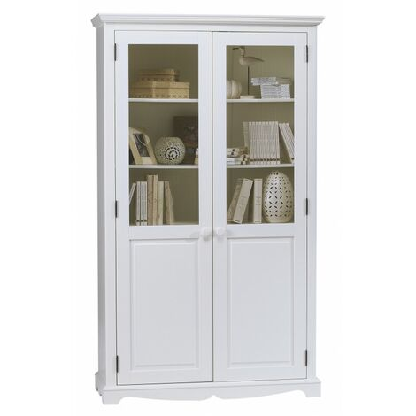 bibliotheque blanche a prix mini