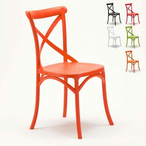 chaise de cuisine rouge a prix mini