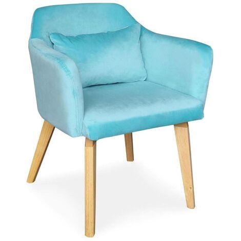 chaise fauteuil scandinave a prix mini