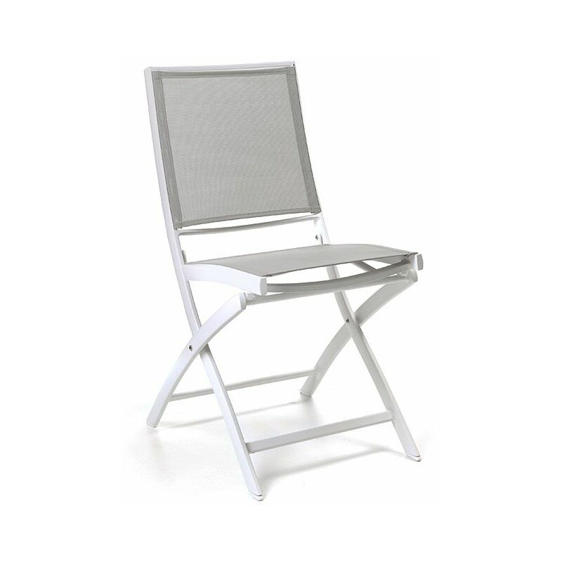 chaise pliante alu et textilene cassini