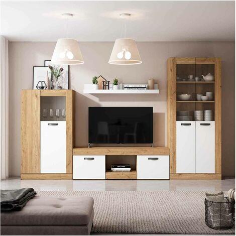 meuble tv vitrine a prix mini