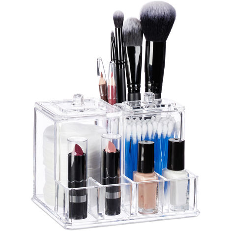Contenitore Cosmetici Porta Trucchi Make Up Organizer Per