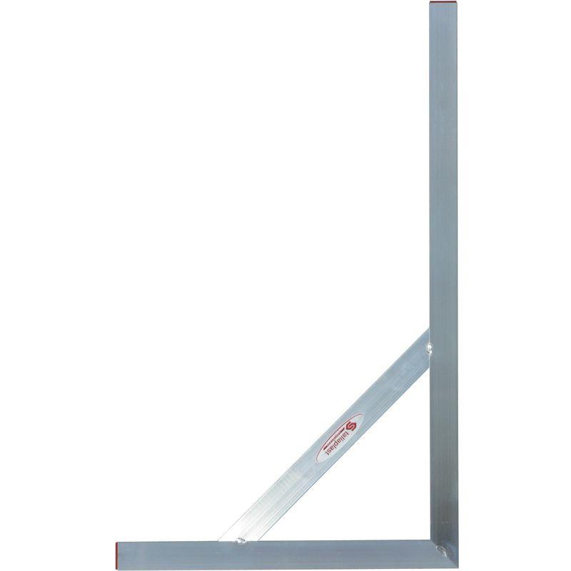 equerre de macon aluminium soudee 100x60cm taliaplast 460905
