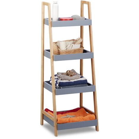 etagere salle de bain bambou a prix mini