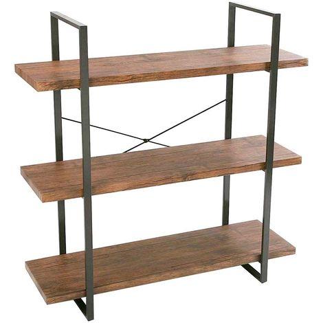 etagere bois metal a prix mini