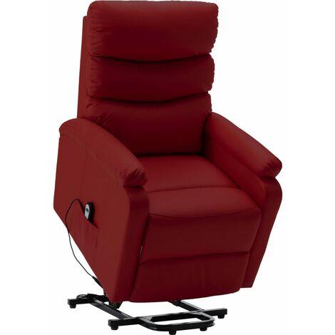 fauteuil rouge a prix mini