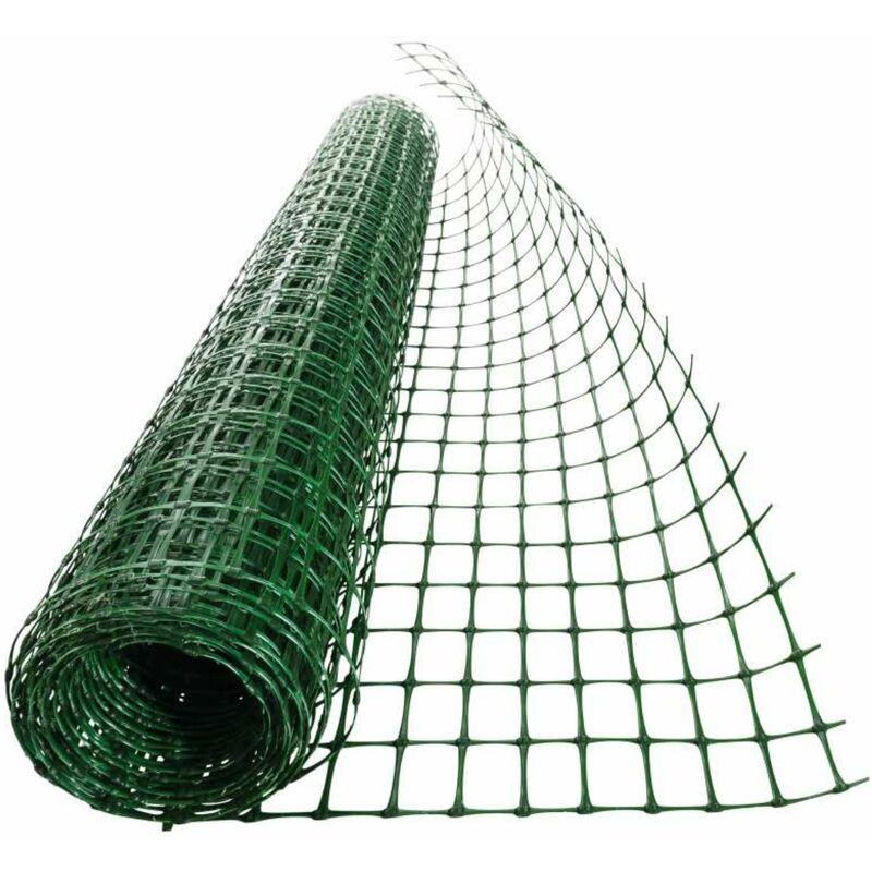 grillage plastique vert 27x42 mm taille 1 x 10 m