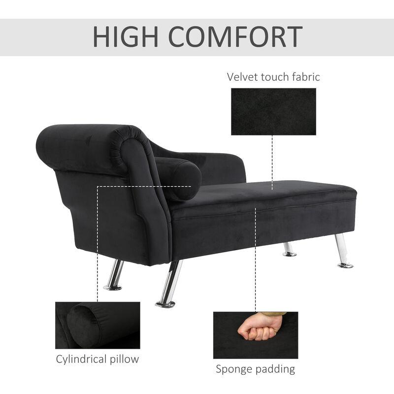 chaises longues deluxe velvet chaise