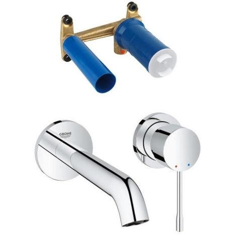robinet pour lavabo et vasque