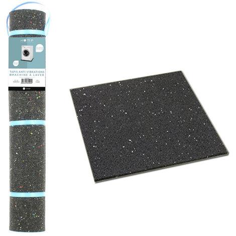tapis anti vibrations 60x60 cm pour appareils electromenager