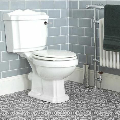 hudson reed toilette wc retro ceramique blanche