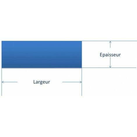 fer plat acier 40mm epaisseur en mm 4 mm longueur en metre 1 metre sections en mm 40 mm
