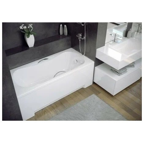baignoire vanessa 130 140 150 160 170 x 70 cm dimensions 140cm blanc