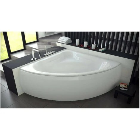 baignoire mia mini avec tablier 120x120 cm ou 130x130cm