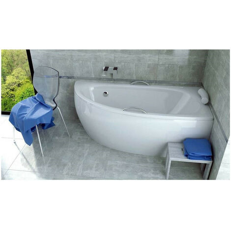 baignoire d angle marina angle droit avec tablier blanc