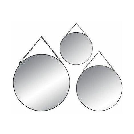 https www manomano fr p lot de 3 miroirs ronds noir 10030845
