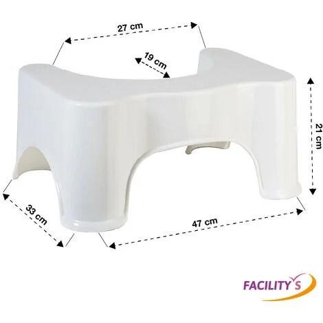 tabouret physiologique marche pied wc toilette