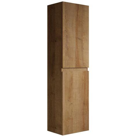 Armoire De Rangement De Angela Hauteur 150 Cm F Oak Meuble De Rangement Haut Placard Armoire Colonne Gktoangfo