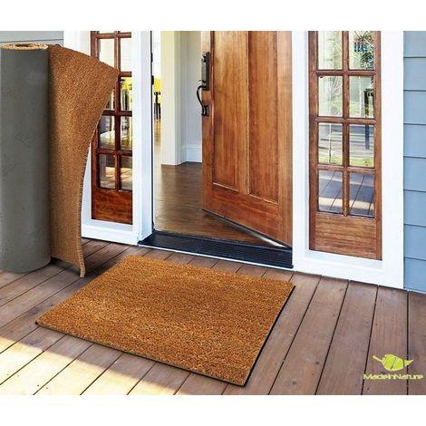 paillasson en fibre de coco tapis d entree paillasson au metre largeur 120cm 50 cm