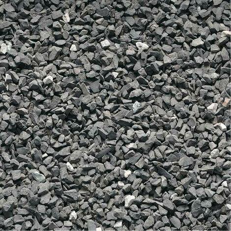 Gravier Marbre Noir 5 8mm Sac 25kg Noir 450123