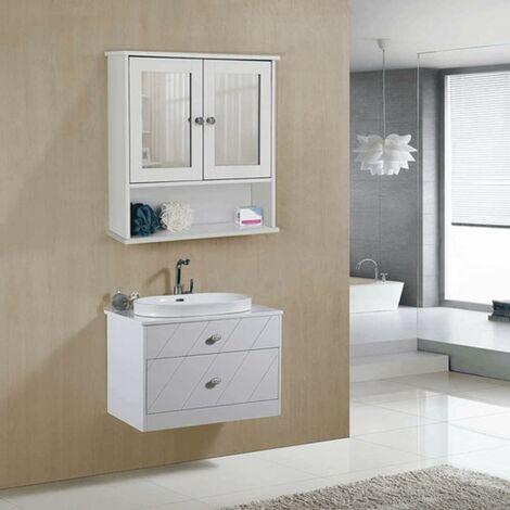 meuble de salle de bain a suspendre