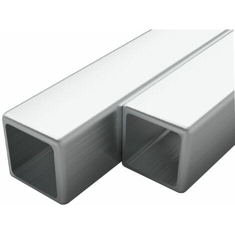 tube et barre metallique