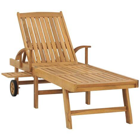 https www manomano fr p chaise longue bois de teck solide 30316066