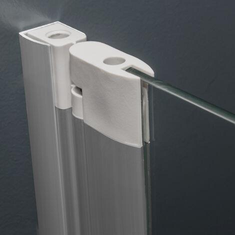 pare baignoire rabattable 70 x 120 cm verre transparent 5 mm paroi de baignoire 1 volet capri ecran de baignoire pivotant schulte profile
