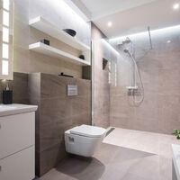 receveur de douche a carreler monopente 120 x 90 cm natte etanche siphon ultra plat