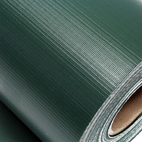 brise vue rouleau vert 35mx19cm pvc 450g m 20 clips protection visuelle pare vue cloture jardin