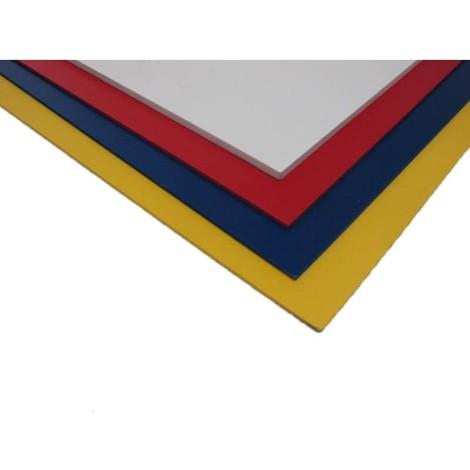 Plaque Pvc Expanse Couleur Coloris Bleu Epaisseur 5 Mm Largeur 50 Cm Longueur 100 Cm 2015306
