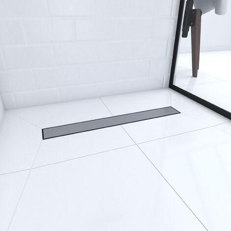 receveur de douche a carreler 90x90 cm recoupable sur mesure avec bonde caniveau