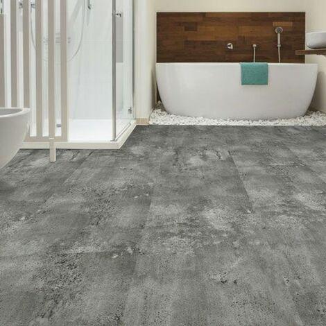https www manomano fr p dalles large sol vinyle performance click a plat beton gris argente 14738734