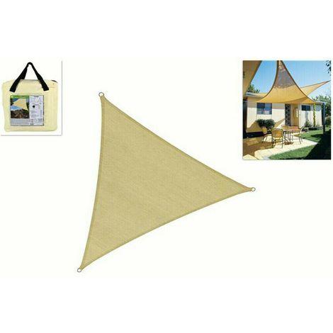 Emooqi tenda a vela triangolare, parasole triangolare 5x5x5m,vela ombreggiante/tende da sole per esterno, protezione raggi uv, hdpe tende a. Tenda A Vela Triangolare Da Sole Ombreggiante Telo Parasole Giardino 3 6 Mt 353