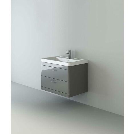 veebath cyrenne grey wall mounted bathroom vanity basin sink cabinet 800mm