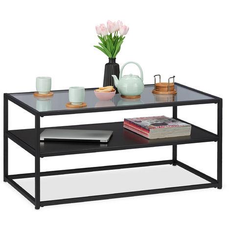 table basse support en bois mdf verre